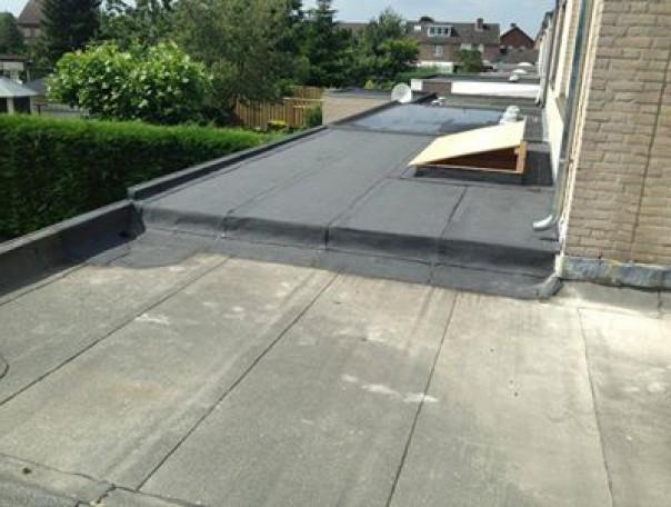 Aanbouw dak koningsbos